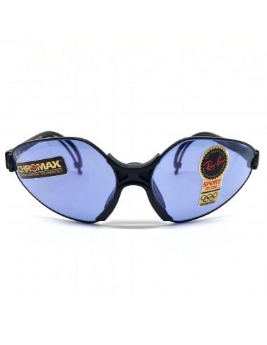 Vista frontal de las gafas deportivas Ray Ban: Bausch & Lomb.