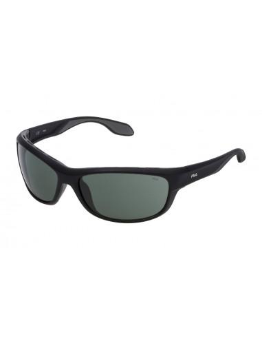 Vista desde la diagonal izquierda de las gafas deportivas Fila: 9044V col. 0U28.