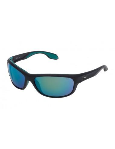 Vista desde la diagonal izquierda de las gafas deportivas Fila: 9044V col. 1GPV.