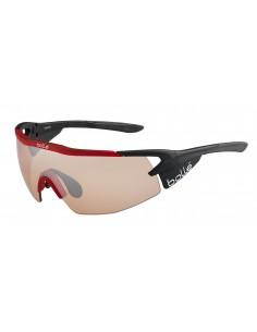 Vista desde la diagonal izquierda de las gafas deportivas Bollé: Aeromax Matte Black.