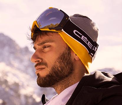 Gafas deportivas: Nieve.
