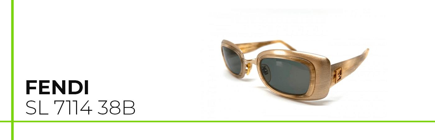 Gafas de sol Fendi de mujer vintage