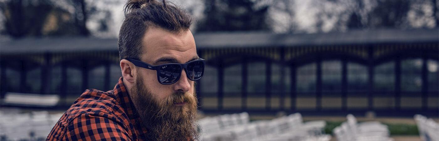 gafas de sol cuadradas cara alargada hombre