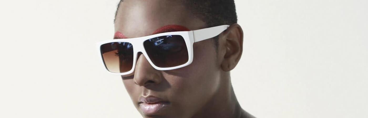 Gafas de sol cuadradas tendencia para el próximo año 2021